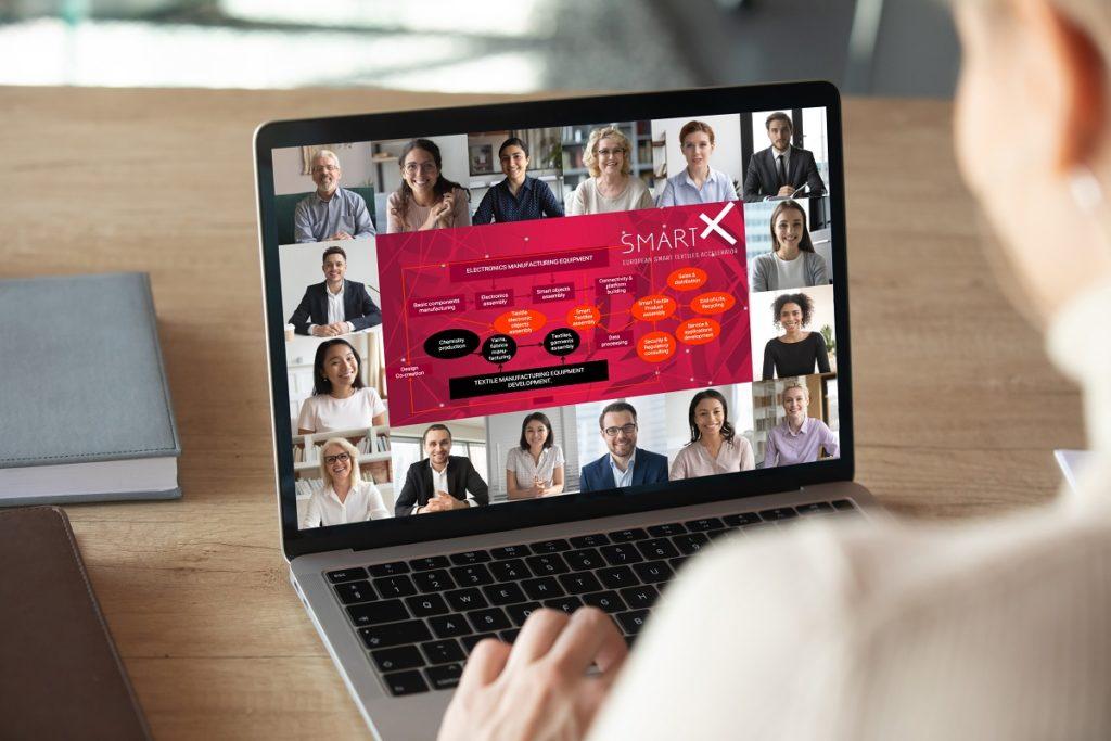 SmartX smart textile webinars