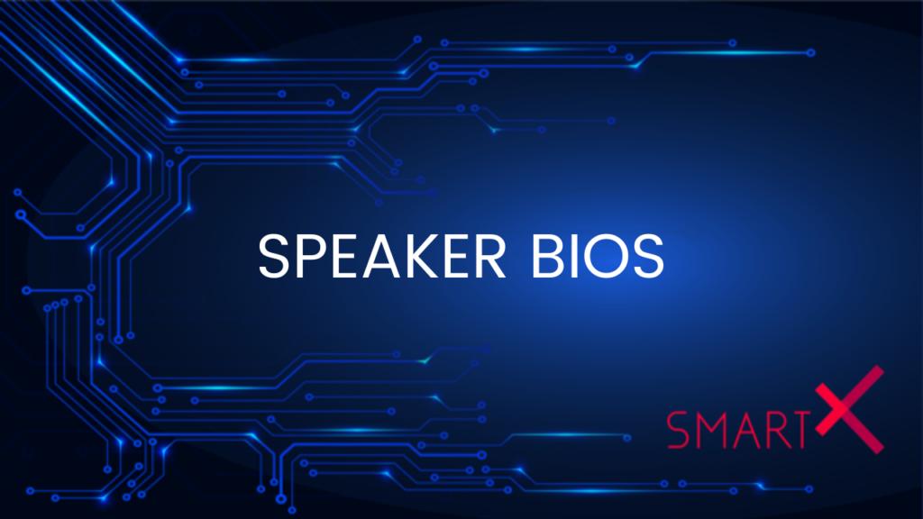SmartX webinar speakers
