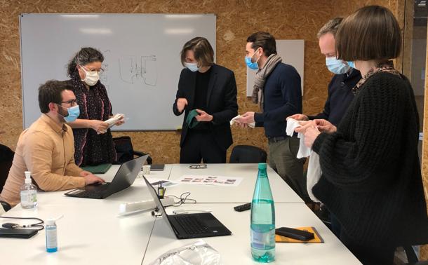 E-POT project team, developers of Sleepy smart underwear