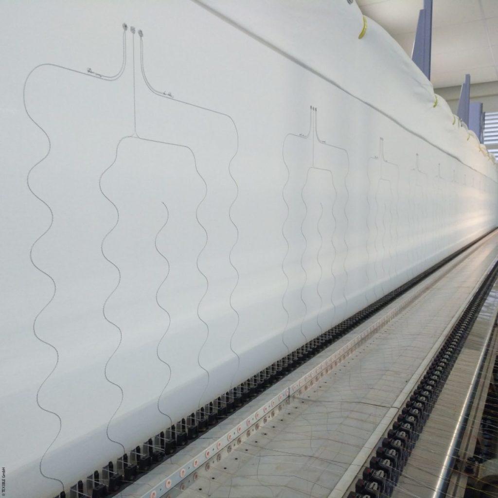 Smart Care Textile sensor in production