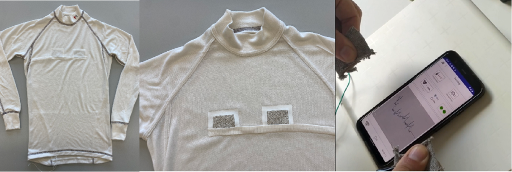 Marina Race undershirt prototype