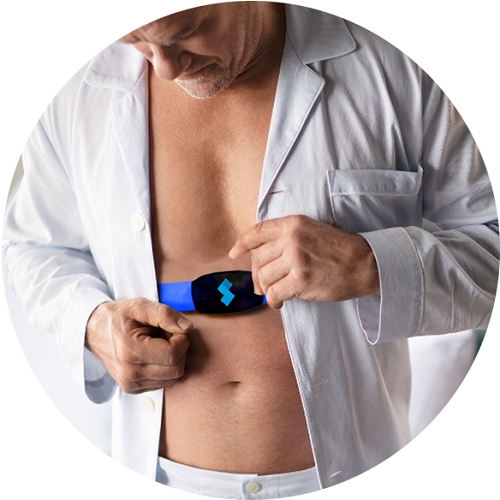 Real-time respiratory monitoring device
